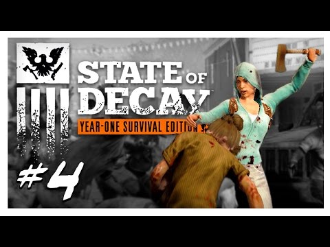 THE VOICE ON THE RADIO | State of Decay Gameplay Part 4 - Year One Survival Edition Walkthrough