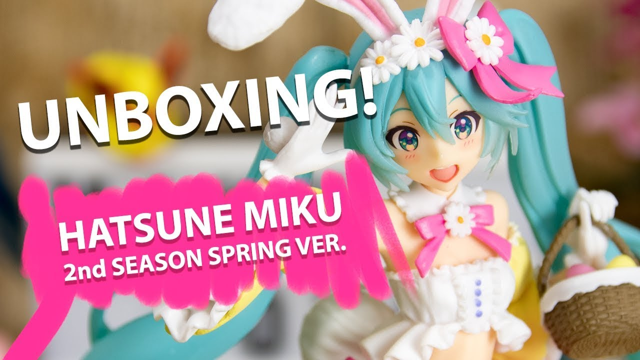 Four seasons series Spring Hatsune Miku Figure 2nd season Spring ver