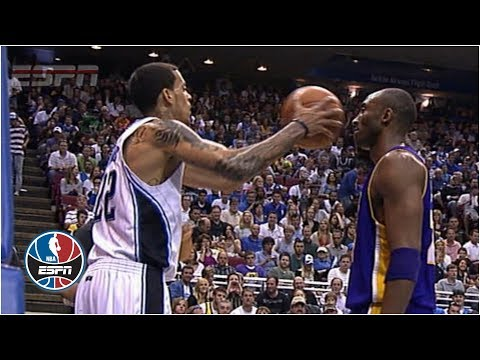 Kobe Bryant Doesn't Flinch When Matt Barnes Fakes Pass At His Face | NBA Highlights