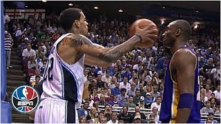 Kobe Bryant doesn't flinch when Matt Barnes fakes pass at his face | NBA Highlights thumbnail