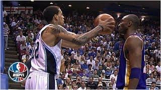 Download Kobe Bryant doesn't flinch when Matt Barnes fakes pass at his face   NBA Highlights Mp3 and Videos