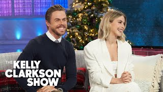 Derek Hough Ripped His Hamstring While Filming 'Holidays With The Houghs' And Kept Dancing