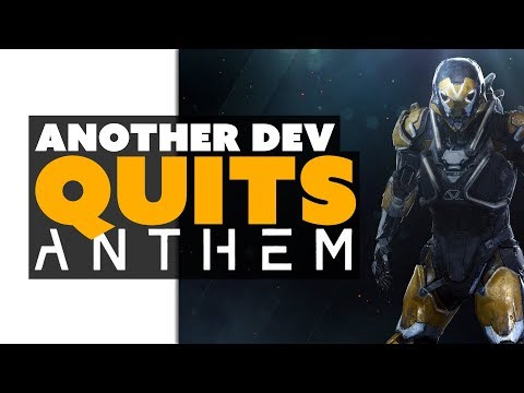 ANOTHER Dev Quits Anthem... Time to Worry? - Game News