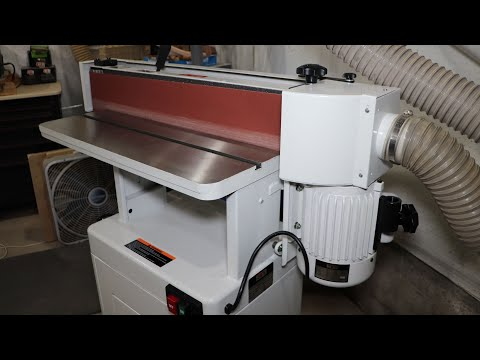 Jet OES 80CS Oscillating 6 x 89 Edge Sander Unloading, Moving Into The Shop And Assembly