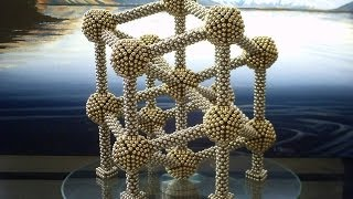 Atomium Style Rhombic Dodecahedron (8364 Ball Magnets)