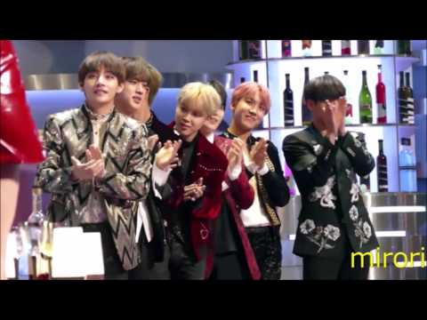 161202 MAMA BTS reaction to Twice (Song of the Year) Ver.2