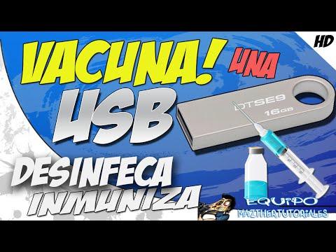 Inmuniza y Vacuna una Memoria USB de Virus