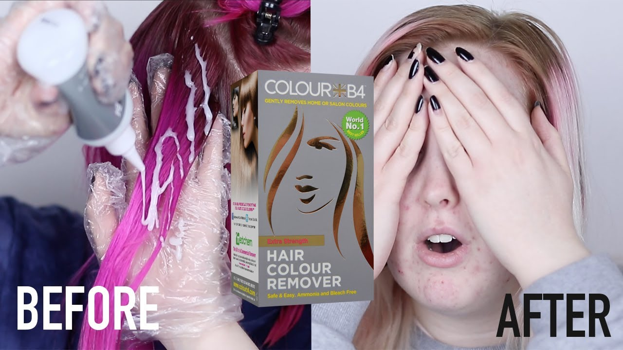 Colour b4 haarfarben entferner frequent use