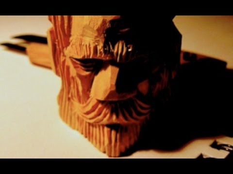 how to carve a face into wood 2