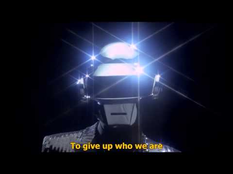 Daft Punk - Get Lucky ft. Pharrell Williams - HD 1080p - Legendado em Inglês- Lyric
