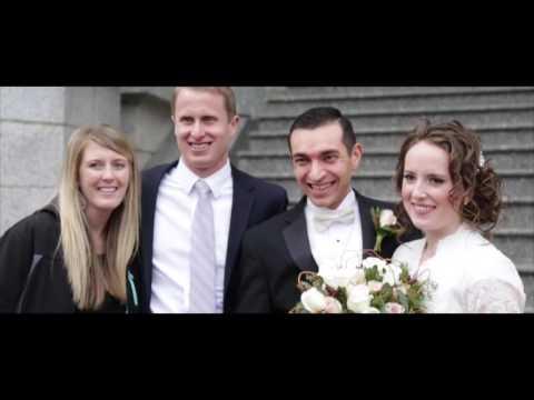 Taylor + Gordon // Salt Lake Temple Wedding Highlight