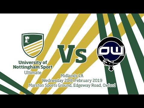 Nottingham Vs Oxford - Midlands 1A 2018-19