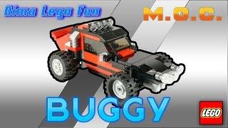 как сделать багги из Лего