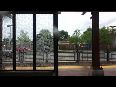 METRO Blue Line Light Rail Mall of America Station to Target Field Station 6/14/14 HD