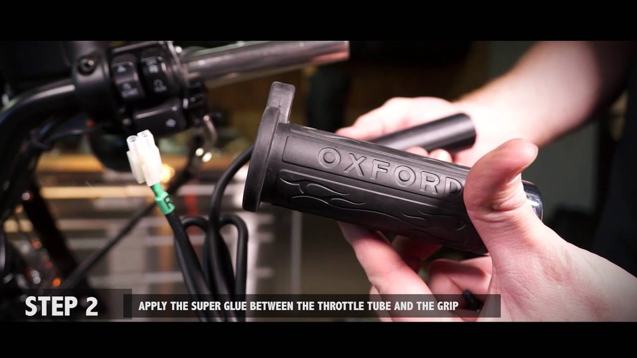 how to install oxford heated grips on harley davidson
