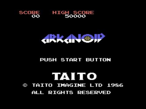 [MSX] Arkanoid, 1986, Taito