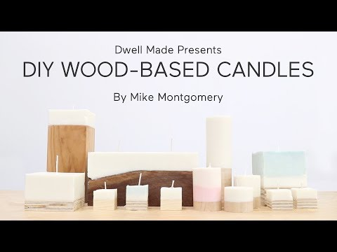 DIY Wood Based Candles | A Dwell Made Project