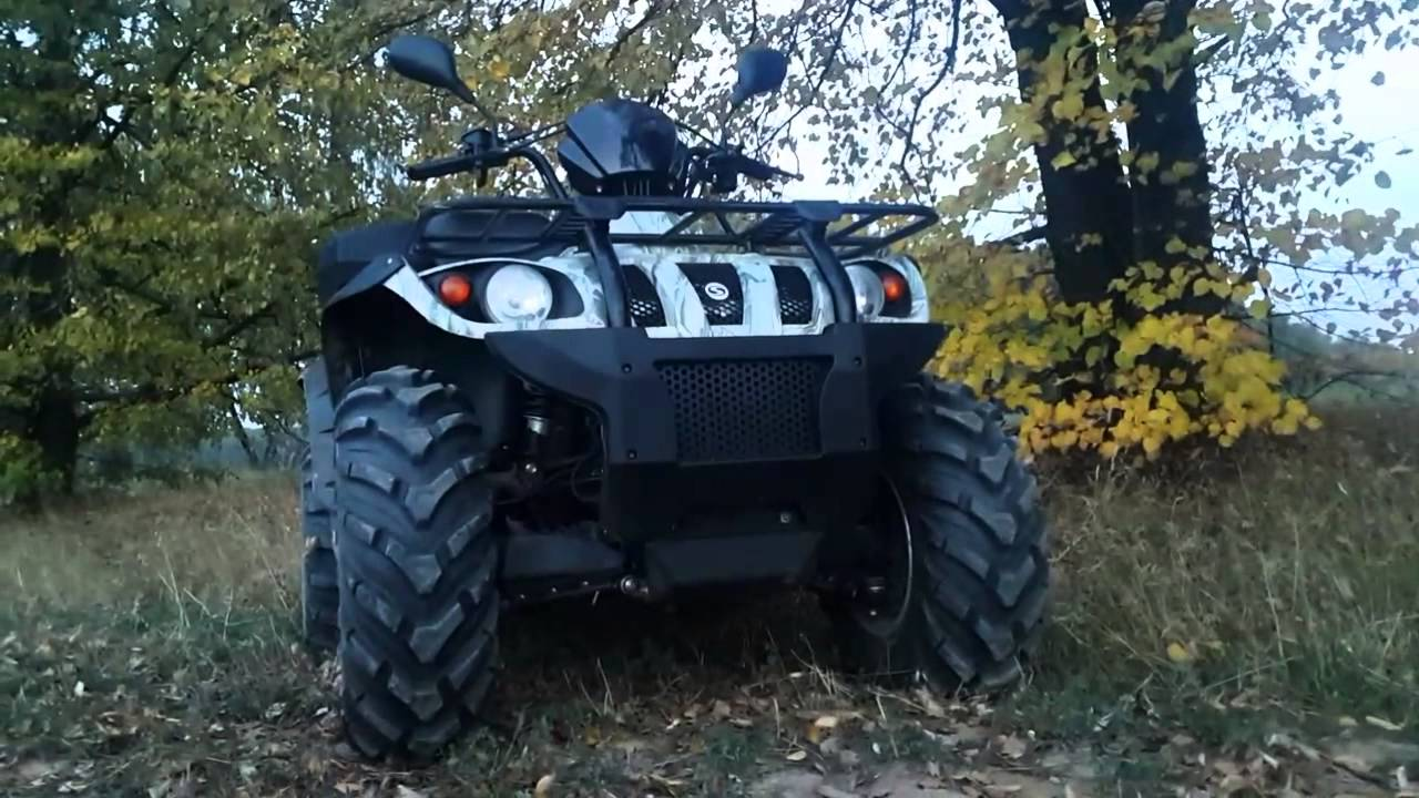 Обзор квадроцикла STELS ATV 300 - YouTube