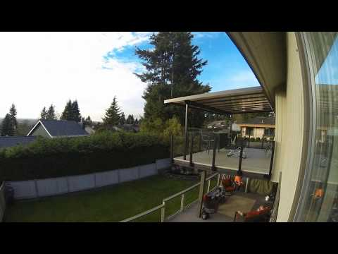 Natural Light Patio Covers Timelapse