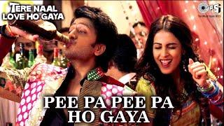 Pee Pa Pee Pa Ho Gaya | Riteish Deshmukh, Genelia | Diljit Dosanjh, Priya | Tere Naal Love Ho Gaya