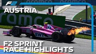 F2 Sprint Race Highlights | 2020 Austrian Grand Prix