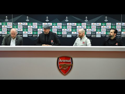 Arsenal v Dundalk FC | MD-1 Press Conference | October 28th 2020