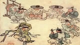육각(六角) 소리 - 김홍도의 무동