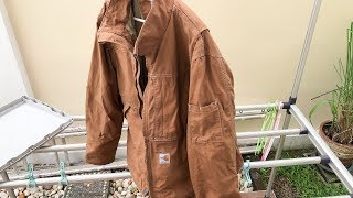 My New Jacket for World Travel - Carhartt Flame Resistant - Full Swing - Quick Duck