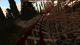 cowt pov script hybrid coaster rmc wooden coaster nolimits coaster 2