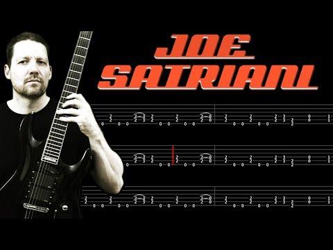 Circles Intro JOE SATRIANI : Guitar Tab + Lesson mp3