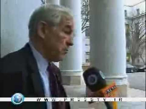 """Ron Paul Stresses Neutrality In Gaza """"a Concentration Camp"""" 01-05-09"""
