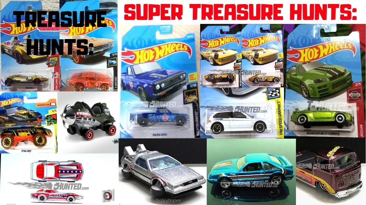 hot wheels 2019 super treasure hunts treasure hunts. Black Bedroom Furniture Sets. Home Design Ideas