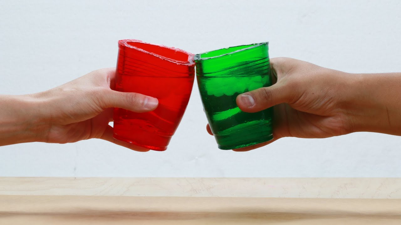 Have A Drink From These Edible Jelly Cups