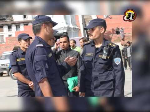 public confused with nepal police new uniform with private guards