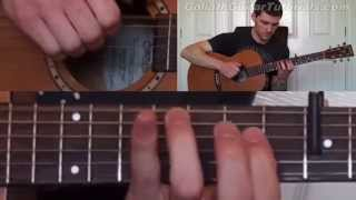 How To Play Further Away By Ben Howard - Guitar Lesson Tutorial