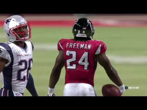 Super Bowl 51: Patriots vs. Falcons Madden NFL 17 Prediction