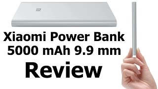 Xiaomi 5000mAh Power Bank Review | Slim Portable Charger