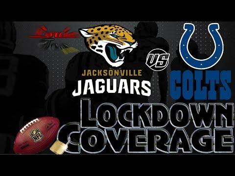 Lockdown Coverage   Jacksonville Jaguars vs. Indianapolis Colts WK 7 Analysis   #LouieTeeLive