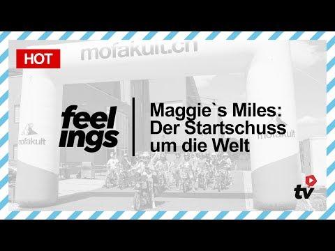 Maggie`s Miles: Der Startschuss um die Welt | Mofakult.ch