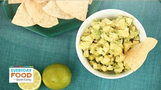 Avocado-jicama Salsa Dip - Everyday Food With Sarah Carey