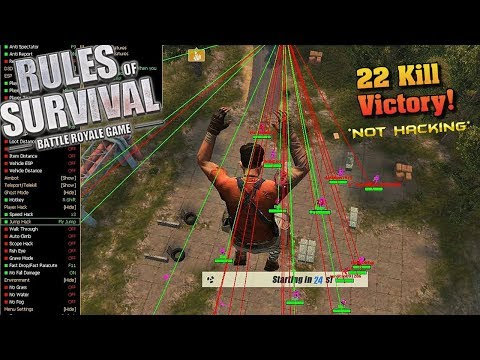 I'm a Hacker, Imma Hack you (Rules of Survival #206)
