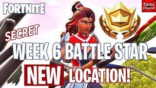 Fortnite: SECRET Week 6 Battle Star NEW Location!