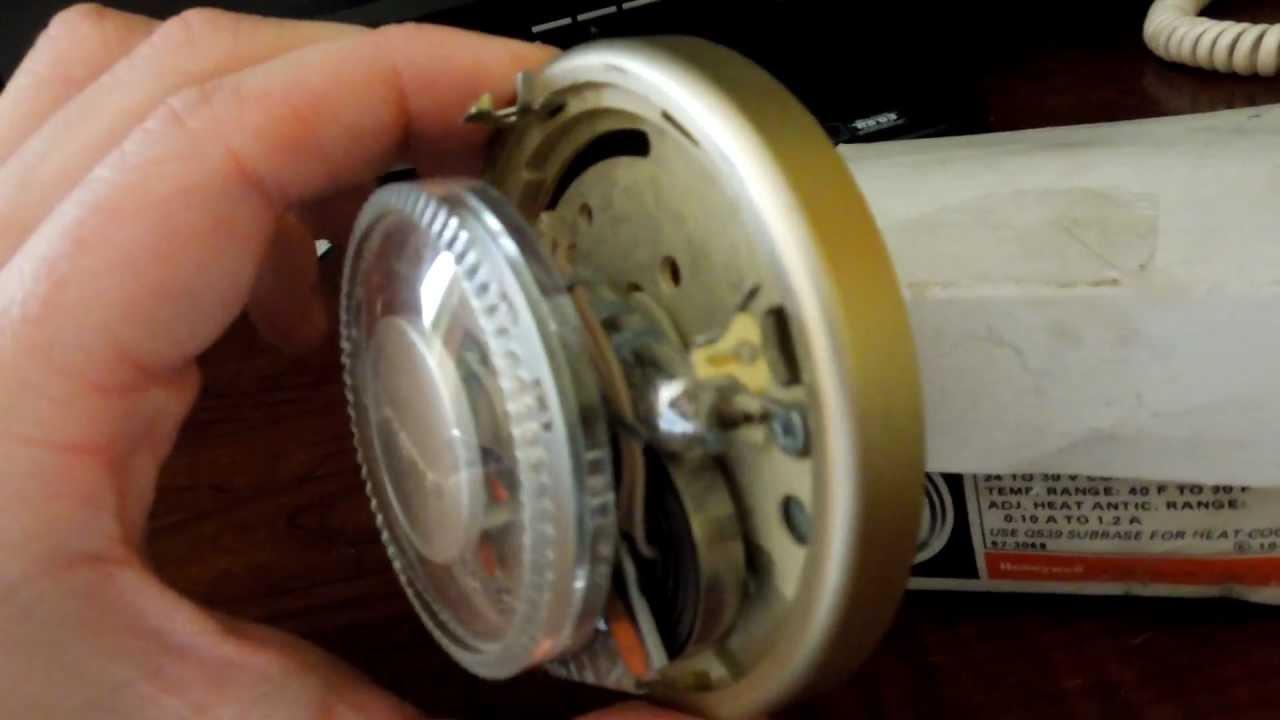 An Older NIB Honeywell T87!  YouTube