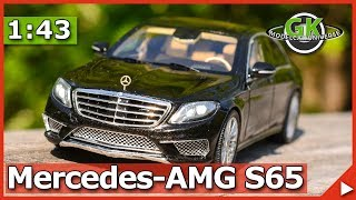 Mercedes-Benz S65 AMG 1/43 Spark Model Modellauto Review | GK Modelcar Universe