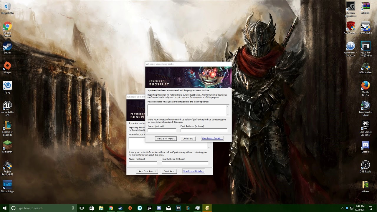 (Solved, solution in Desc ) League of Legends Keeps Crashing At Launch