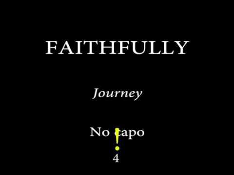 Faithfully Journey Arnel Pineda Easy Chords And Lyrics Sin Audio