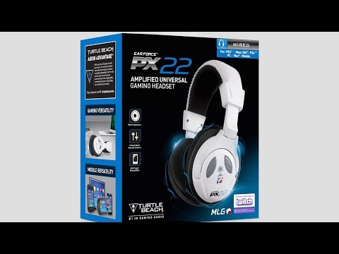 Turtle Beach PX22: UNBOXING & REVIEW Deutsch German