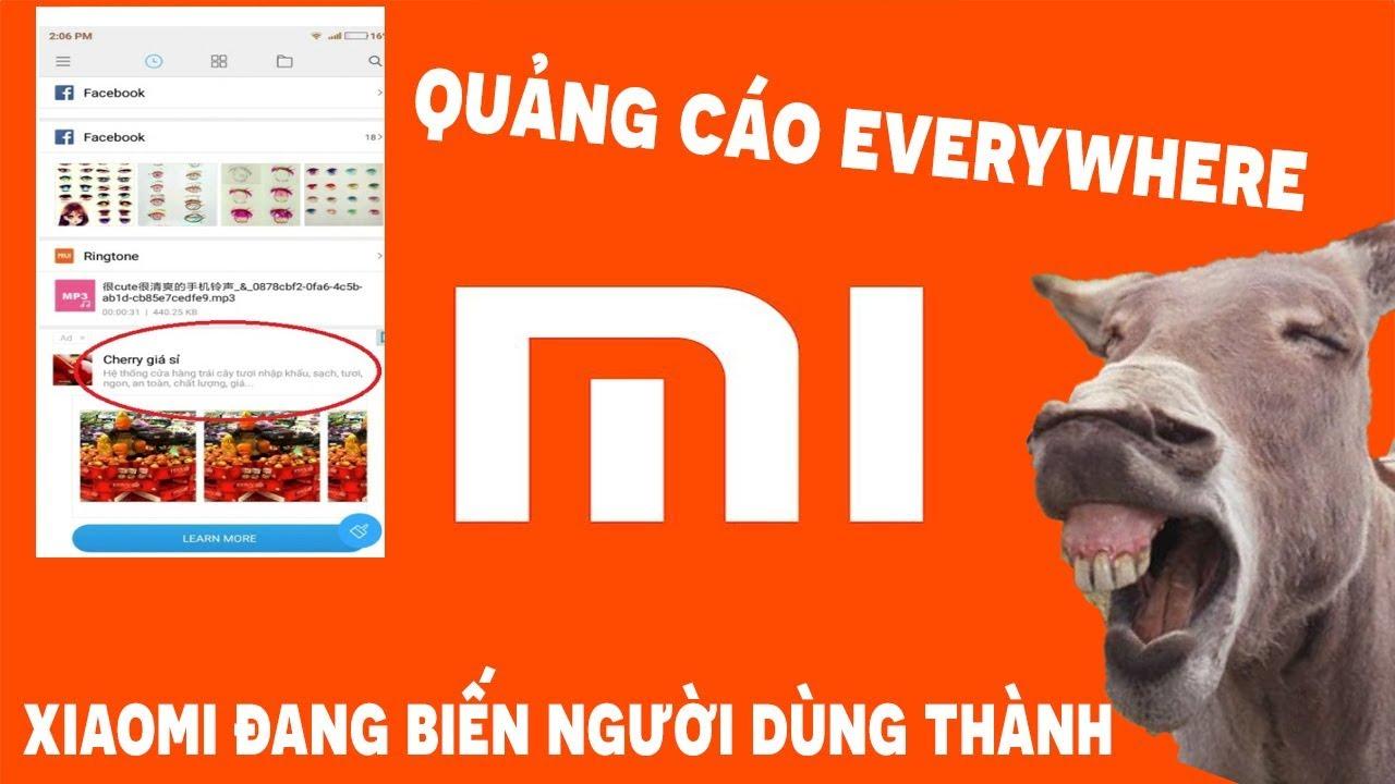 Hướng dẫn khắc phục khi smartphone Xiaomi tràn ngập quảng cáo