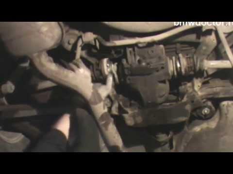 BMW E46. Сайлентблока редуктора. Инструкция по замене.