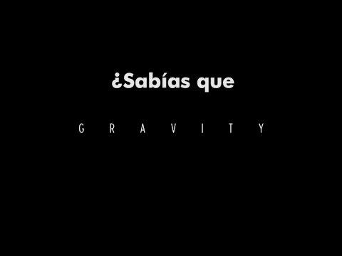 """¿Sabías que """"Gravity""""...?"""